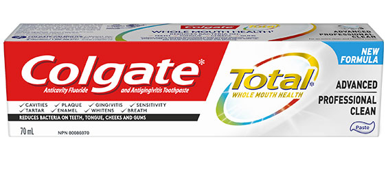 Colgate total clean mint